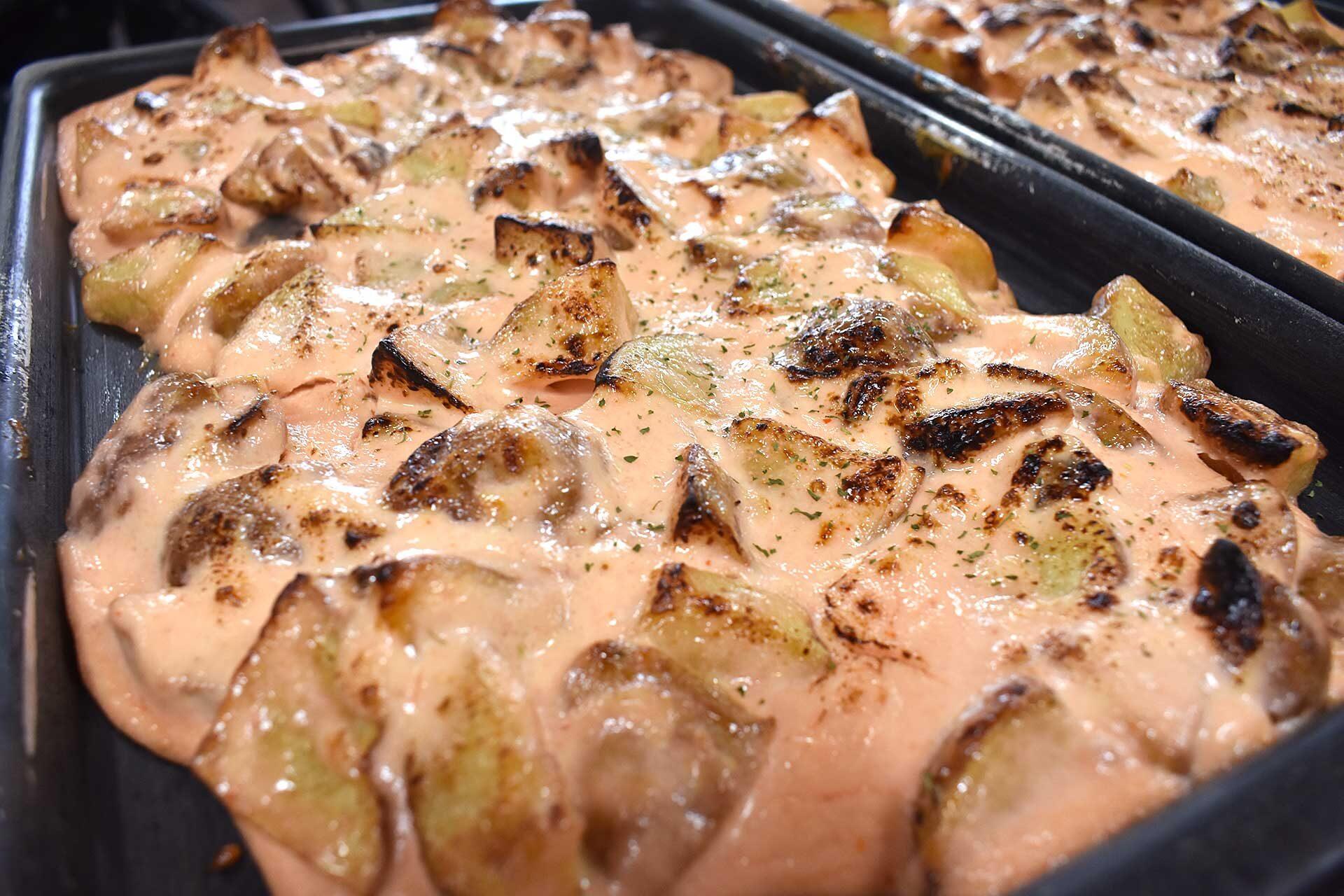 明太マヨポテトのオーブン焼き