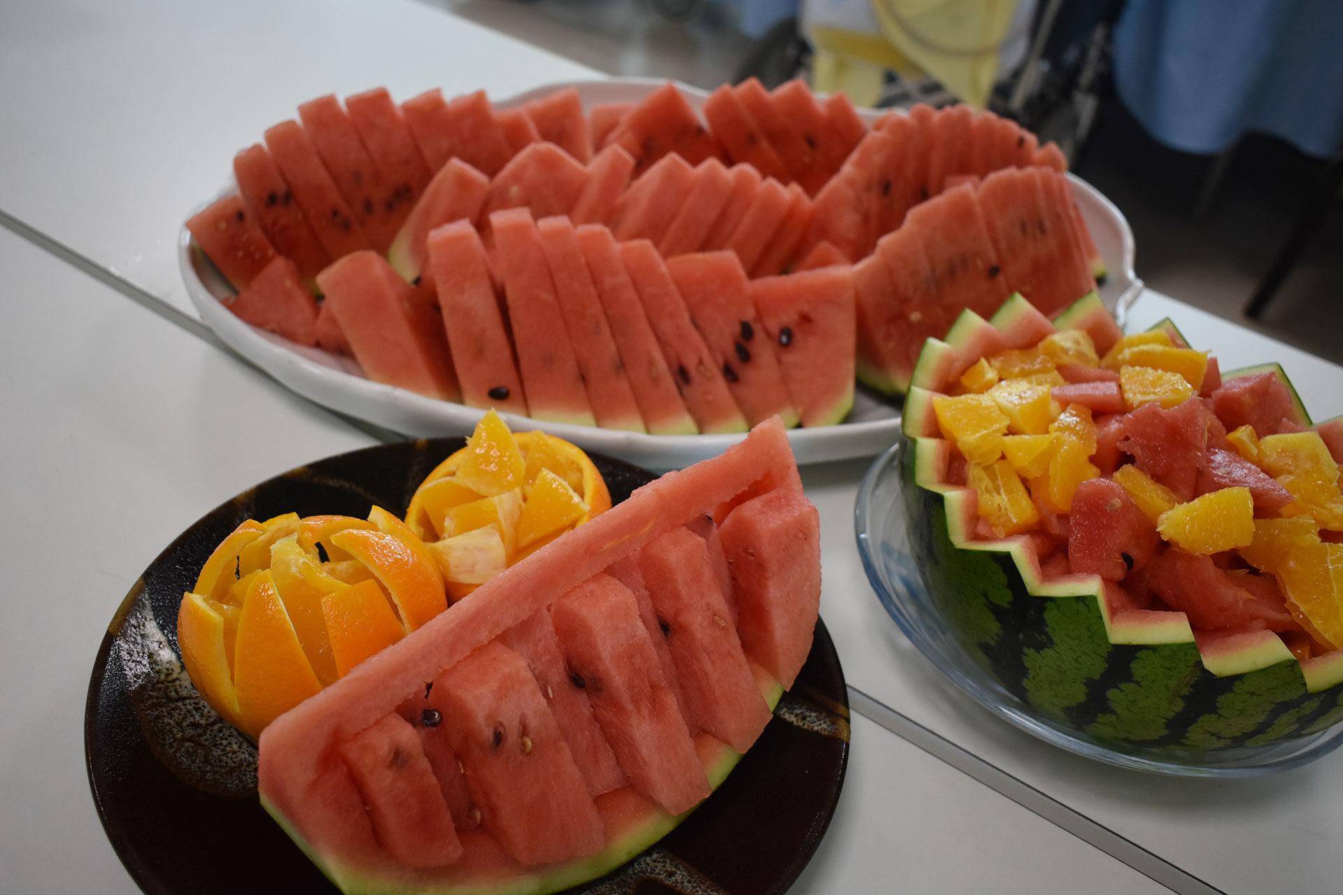 旬のフルーツ盛り合わせ2